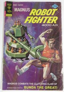 MAGNUS ROBOT FIGHTER 43 (Gold Key, /1976)GOOD MINUS(G-) COMICS BOOK