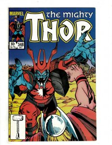 12 Mighty Thor Marvel Comic 348 349 350 351 352 353 355 358 359 360 361 362 RB12