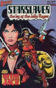 Starslayer #16 VF/NM; Pacific | save on shipping - details inside