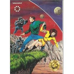 1993 Valiant Era MAGNUS ROBOT FIGHTER #20 - Card #21