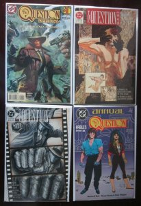 The Question Comic Lot (5 DIFF) - 8.0 VF