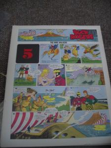 BUCK ROGERS #5-ITALIAN SUNDAY STRIP REPRINTS-CALKINS FN