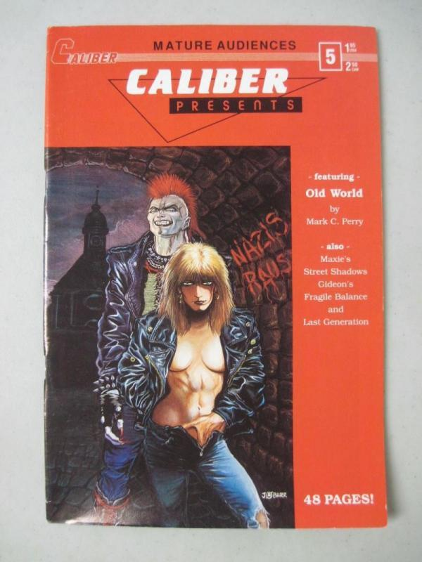 CALIBER PRESENTS #5, FN, James O'Barr, Crow, 1989, Horror, more in store