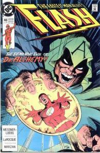 Flash (1987 series) #40, Fine (Stock photo)