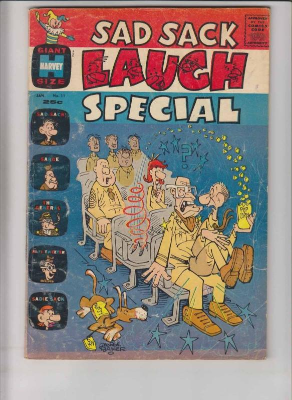 Sad Sack Laugh Special #11 VG/FN january 1962 - george baker - silver age harvey