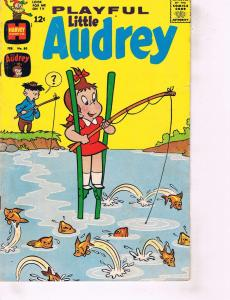 Lot Of 2 Comic Books Harvey Playful Audrey #80 and Eclipse Aztec Ace #1 ON8