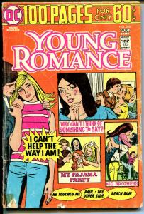 Young Romance #200 1974-DC-Giant Edition-rare milestone issue-G