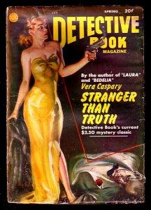 DETECTIVE BOOK-SPG 1947/48-GOOD GIRL ART!!! G/VG