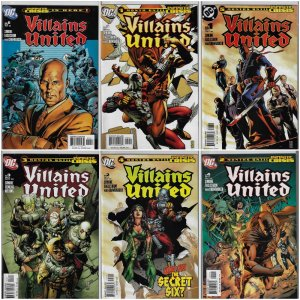 Villains United #1-6 (DC, 2005) NM