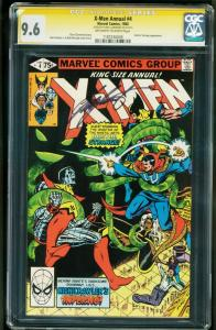 X-Men Annual #4-cgc ss 9.6 CHRIS CLAREMONT - DOCTOR STRANGE - 1187236009