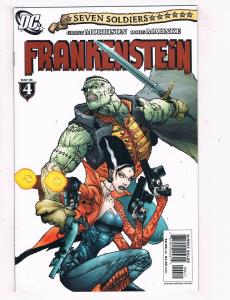 Frankenstein #4 NM DC Comics Comic Book Morrison May 2006 DE43 TW14