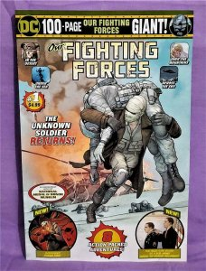 Direct Market Exclusive OUR FIGHTING FORCES Giant #1 Medal of Honor (DC, 2020)!