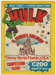 HULK (BRITISH WEEKLY) 7 VF-NM HULK BY PAUL NEARY