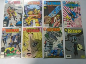 Batman comic lot 24 different from #410-449 8.0 VF (1987-90)