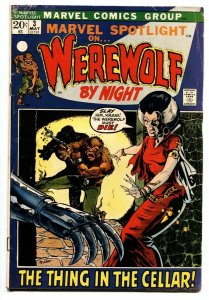 Marvel Spotlight #3 2nd Werewolf By Night-Mike Ploog-comic book VG