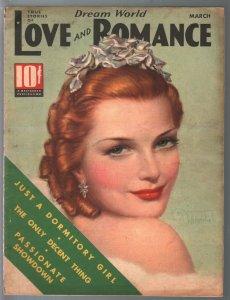 Dream World Love and Romance 3/1937-Tchetchet-spicy exploitation-FN-