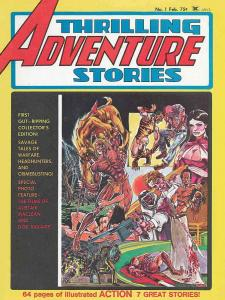 Thrilling Adventure Stories #1 VG; Seaboard | low grade comic - save on shipping