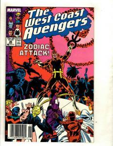 12 West Coast Avengers Marvel Comics # 26 28 29 30 33 35 41 42 44 48 49 50 WS12