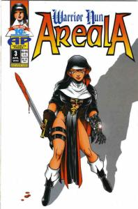 Warrior Nun Areala (Vol. 1) #3 VF; Antarctic | save on shipping - details inside
