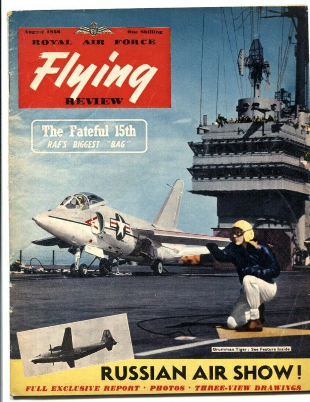 Royal Air Force Flying Review August 1956- Grumman Tiger