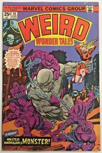 WEIRD WONDER TALES#10 FN 1975 MARVEL BRONZE AGE COMICS