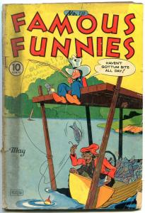 FAMOUS FUNNIES #130 1945- Scarlett O'Neil-Buck Rogers- Scorchy Smith