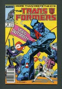 Transformers #32  / 8.5 VFN+  Newsstand  September  1987
