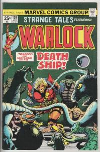 Strange Tales #179 (Jun-75) FN/VF Mid-High-Grade Adam Warlock