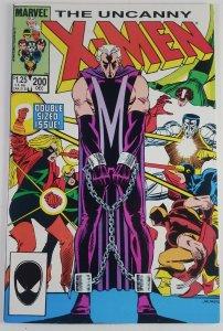 The Uncanny X-Men #200 - Professor X Leaves Team - Claremont - NM - Marvel 1985