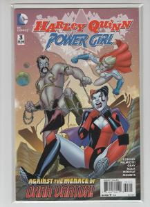 HARLEY QUINN & POWER GIRL (2015 DC) #3 NM