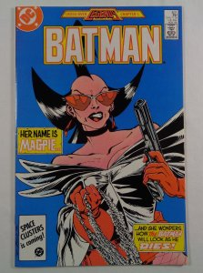 Batman #401 NM-/NM 2nd Appearance Magpie Front/Back Cover Scans DC 1986