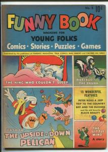 FUNNY BOOK #5-HIGH GRADE FUNNY ANIMAL GOLDEN AGE FN/VF