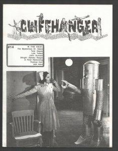 Cliffhanger #14 1991-WOY-Classic zine for fans & collectors of serials-Robot ...