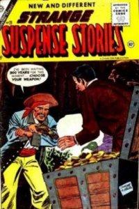 Strange Suspense Stories (1952 series) #28, VG- (Stock photo)