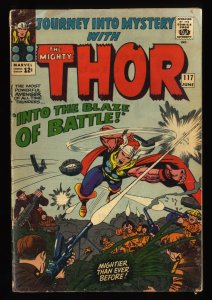 Journey Into Mystery #117 GD+ 2.5 Marvel Comics Thor