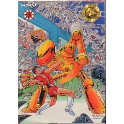 1993 Valiant Era MAGNUS ROBOT FIGHTER #4 - Card #5