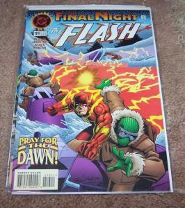 FLASH # 119  1996 dc   final night WALLY WEST  PREY FOR DAWN