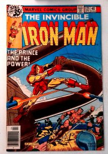 Iron Man #121 Marvel 1979 VG/FN Bronze Age Comic Book 1st Print