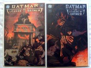 Batman: League of Batmen #1 & #2 Complete Set LOT of 2 (2001, DC)