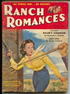 Ranch Romances 2nd Nov-GGA cover-Randolph Scott-Rory Calhoun-Kinstler-VG+