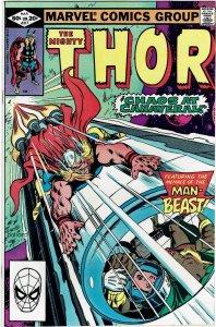 Thor #317 (1966 v1) Iron Man Man-Thing NM