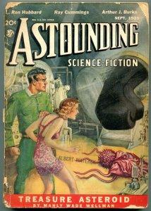 Astounding Pulp September 1938- L Ron Hubbard - Manly Wade Wellman G