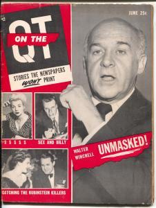 On The QT #1-June 1955-Billy Graham-Bernarr MacFadden-exploitation-G/VG