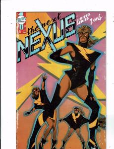 Lot of 4 The Next Nexus First Comic Books #1 2 3 4 WT18