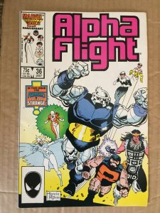 Alpha Flight #36 (1986)
