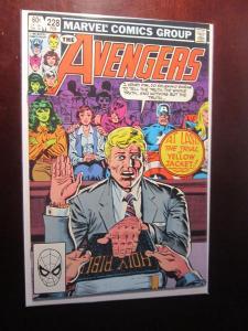 Avengers (1963 1st Series) #228 - 8.5 VF+ - 1983