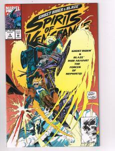 Spirits of Vengeance #8 Marvel Comic Book Blaze Ghost Rider Adam Kubert HH2
