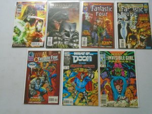 What If? lot 21 different Fantastic Four issues avg 7.0 FN VF