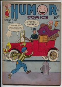 All Humor #5 1946-Quality-Atomic Tot-Kelly Poole-elusive issue-Hickory-VG-