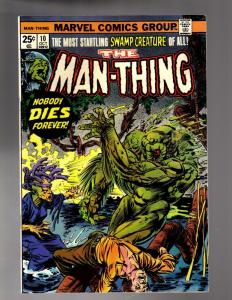 MAN THING (1974) 10 FINE October 1974